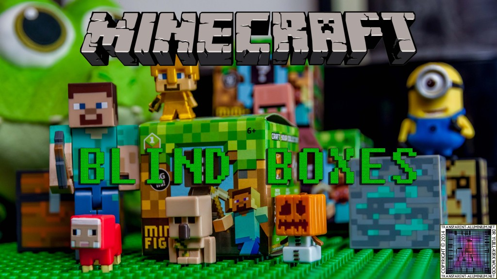 Minecraft Blind Boxes