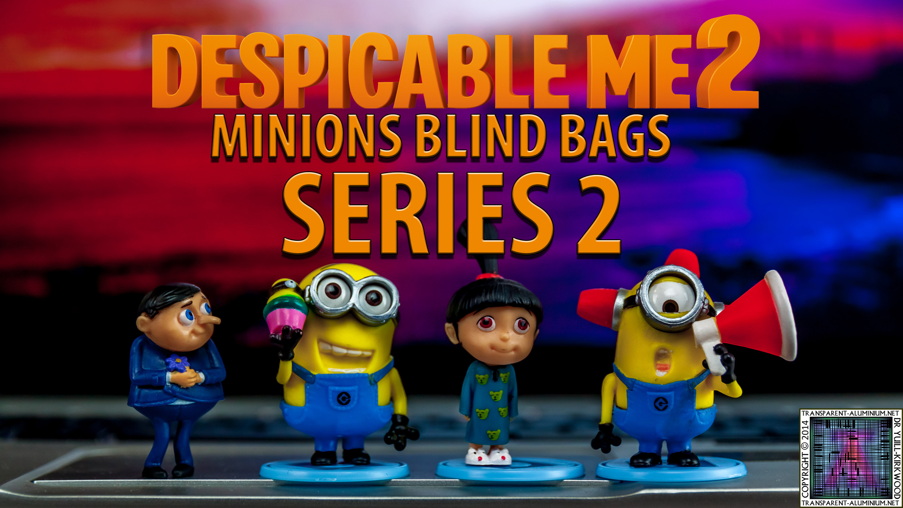 Despicable Me 2 Minions Blind Bags Series 2