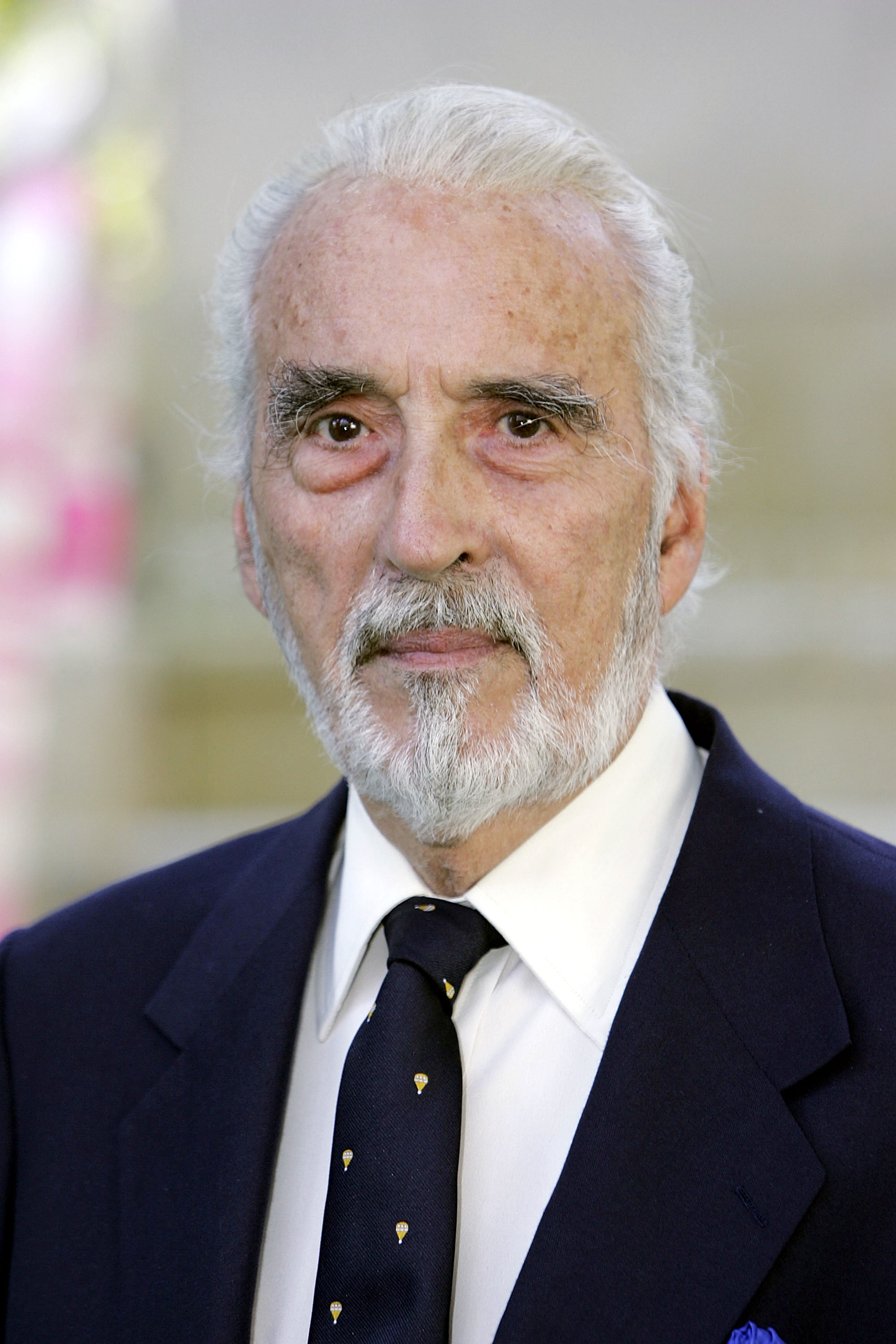 Happy birthday sir christopher lee transparent for Chris lee architect