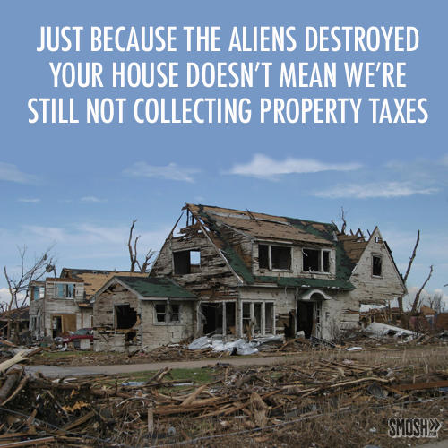 Still Collecting Property Taxes