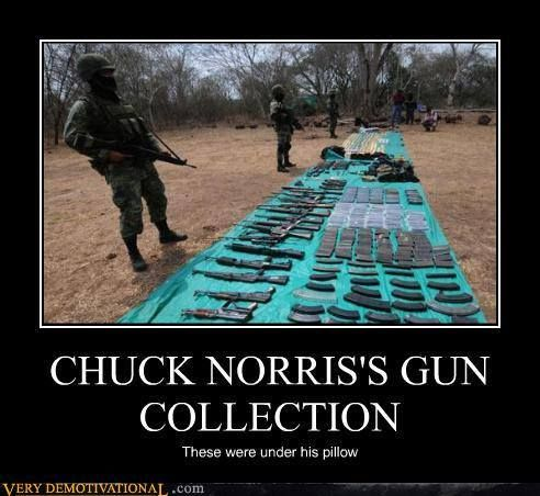 Chuck Norris Gun Collection