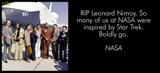Friends, Colleagues, Fans Pay Tribute To Leonard Nimoy
