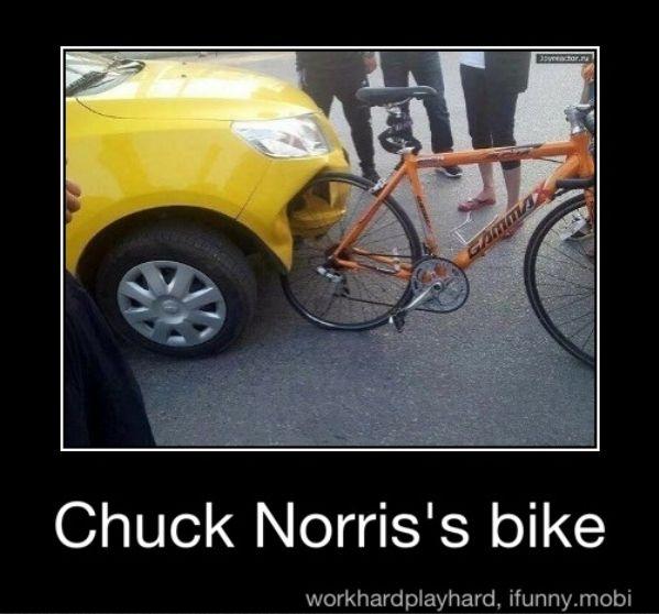 Chuck Norris Bike
