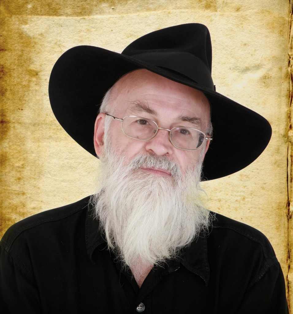Terry Pratchett not to be confused with the Archbishop of Canterbury