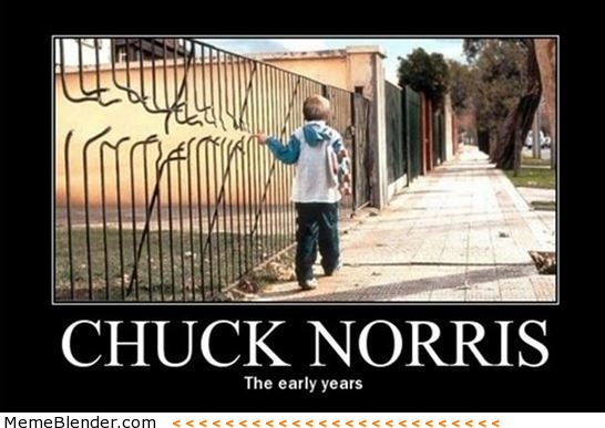 Chuck Norris the early years