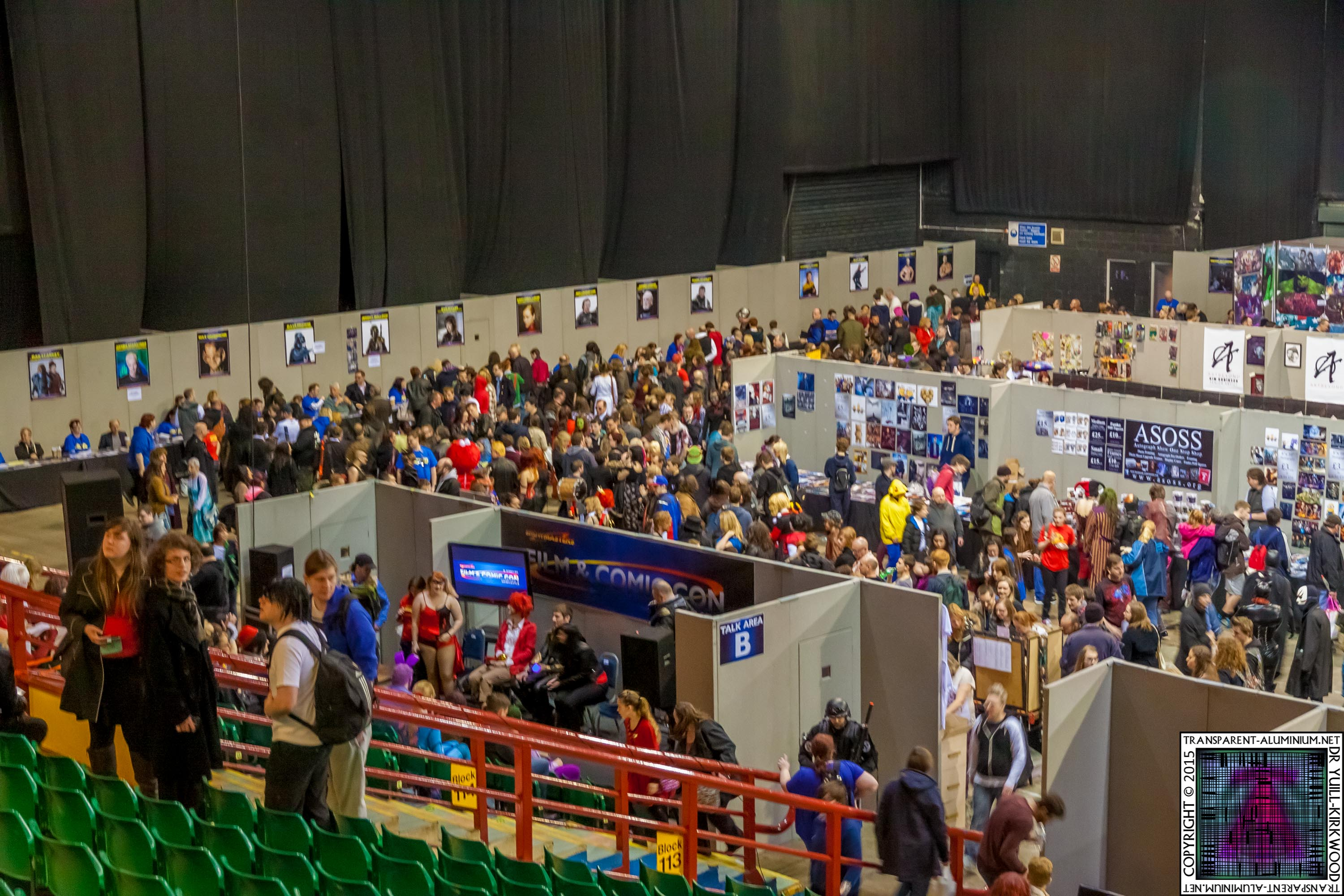 Newcastle Film & Comic-Con 2015 The Show
