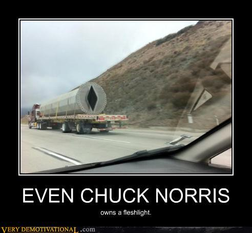 Even Chuck Norris owns a Fleshlight