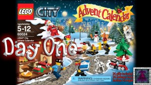 LEGO City Advent Calendar 60024 thumb - Day 01