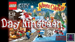 LEGO City Advent Calendar 60024 thumb - Day 19