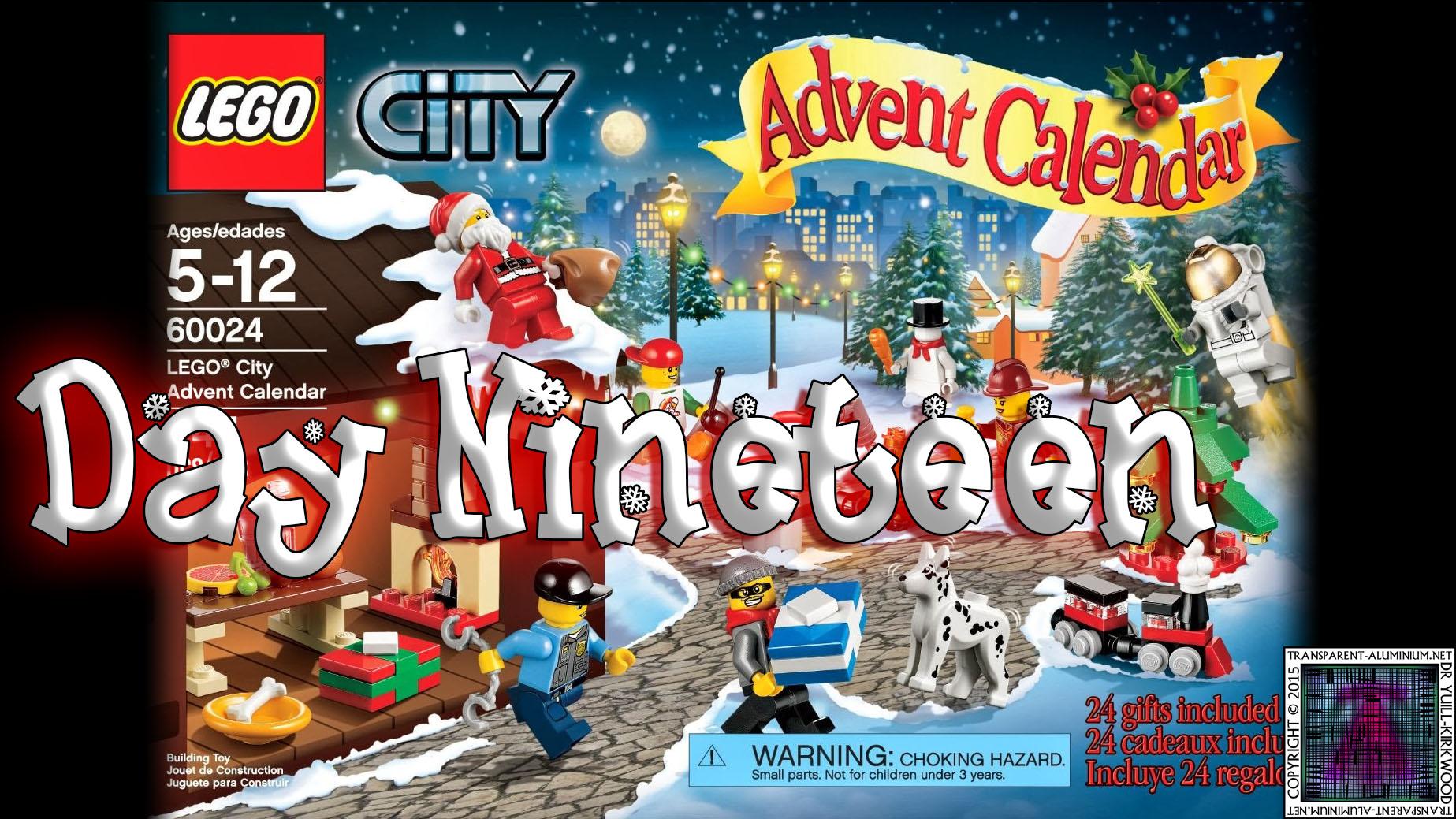 LEGO City Advent Calendar Day 19 – 60024