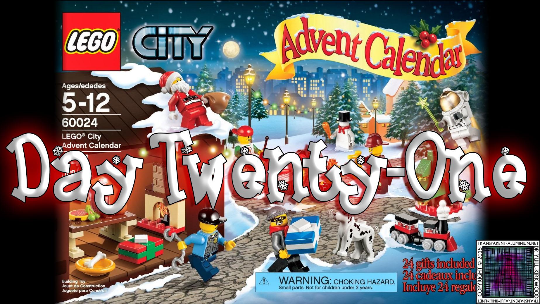 LEGO City Advent Calendar Day 21 – 60024