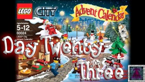 LEGO City Advent Calendar 60024 thumb - Day 23