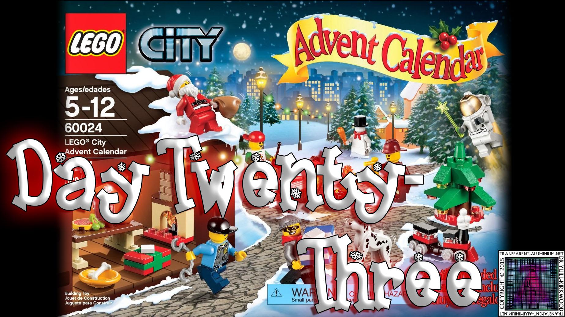 LEGO City Advent Calendar Day 23 – 60024