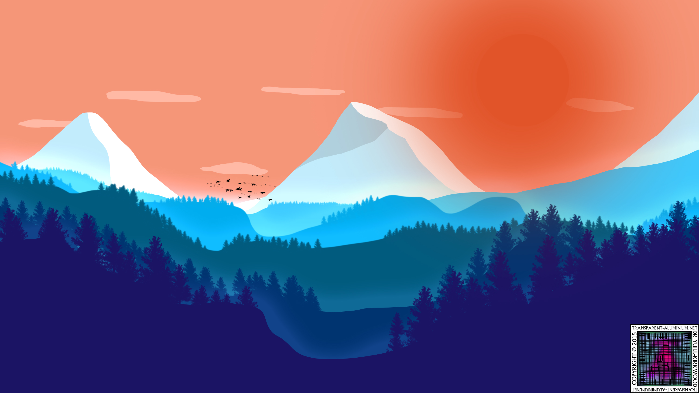 Cold Mountain Sunrise