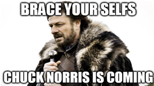 Chuck Norris Is Coming