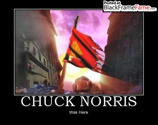 Chuck Norris  Was Here