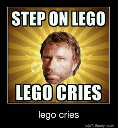 Step On LEGO LEGO Cries