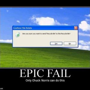 Only Chuck Norris can do this