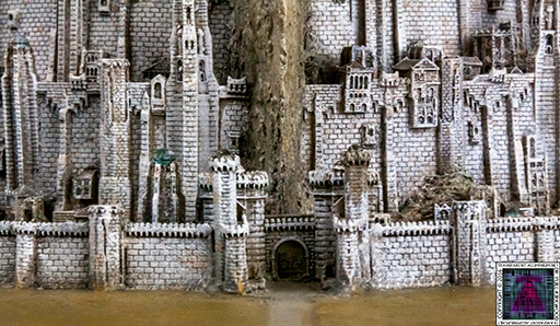 Minas Tirith The Great Citadel Of Gondor Weta (9) 512