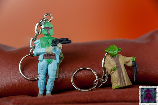 Star Wars Mystery Egg Key Chain