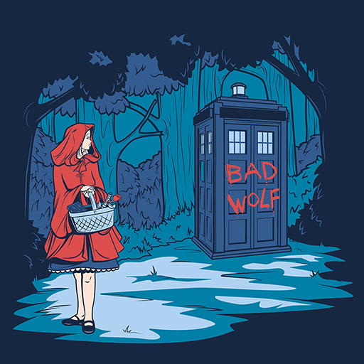 Doctor Who and Red Riding Hood