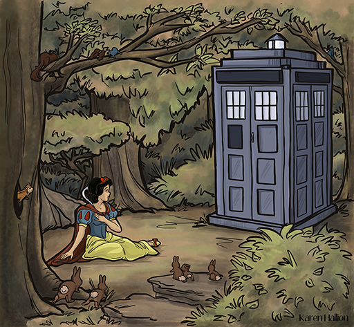 Doctor Who and Snow White