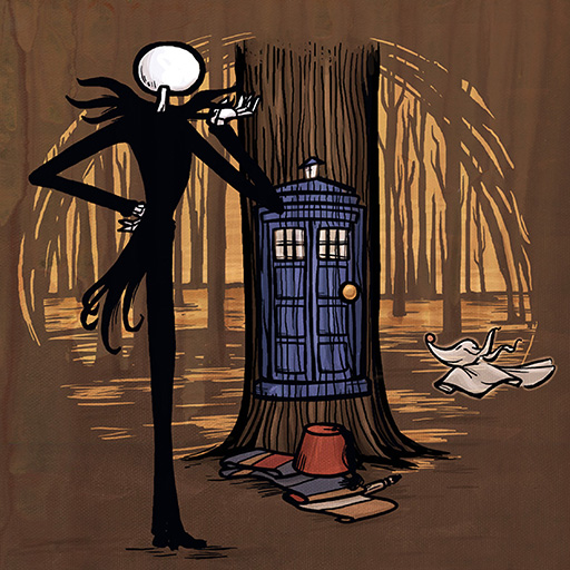 Doctor Who and The Pumpkin King