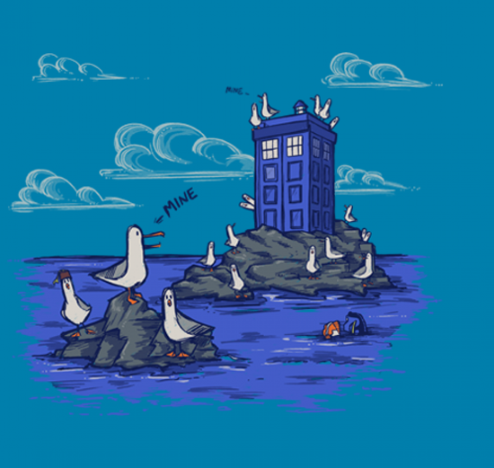 Doctor Who and the Seagulls Finding Nemo