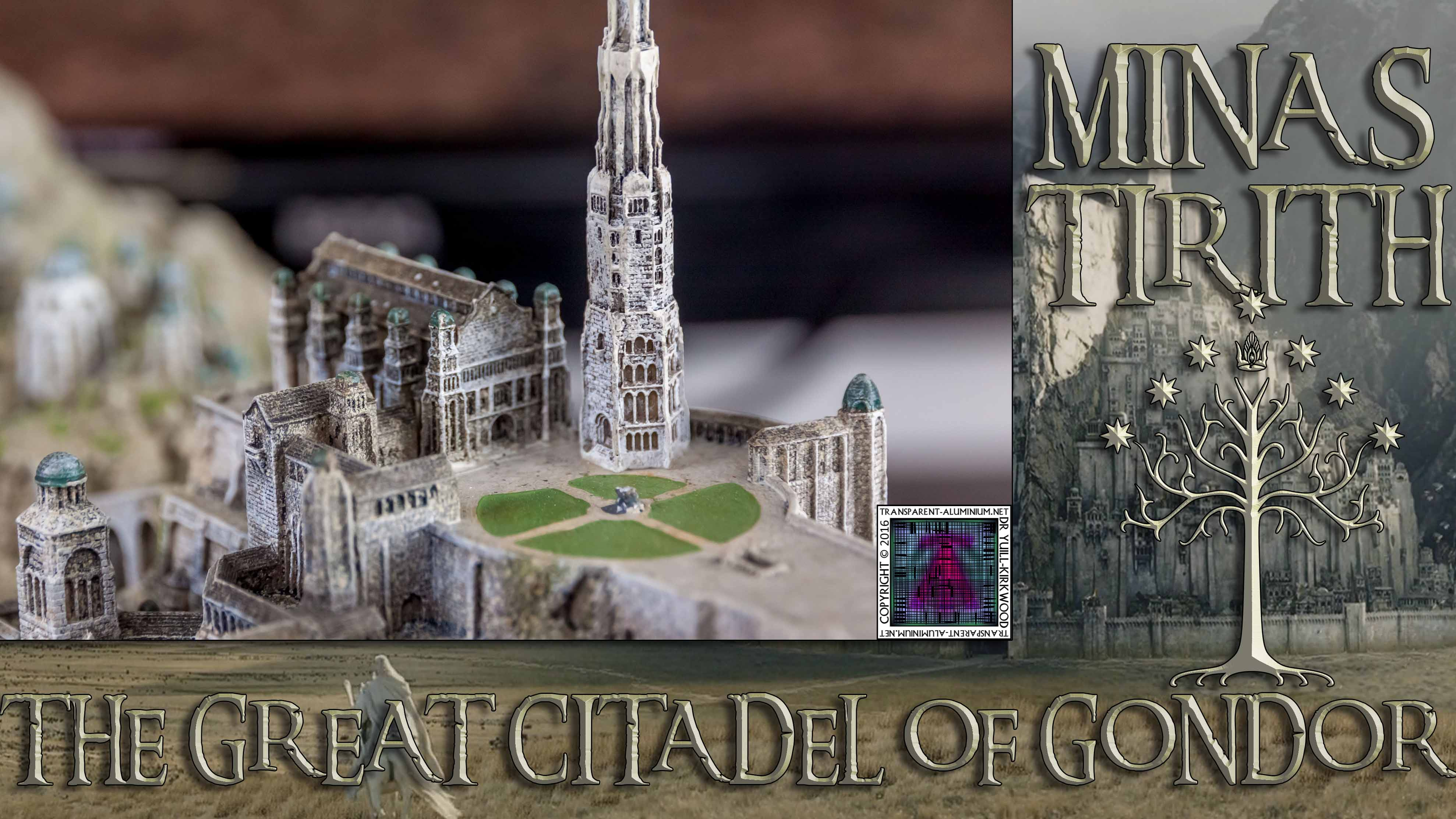 Minas Tirith The Great Citadel Of Gondor
