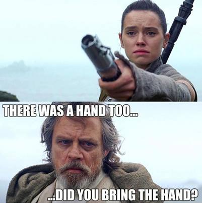 Did You Bring The Hand