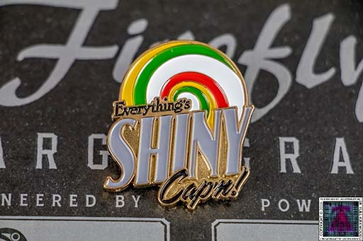 Firefly Cargo Crate Kaylee Shiny Pin