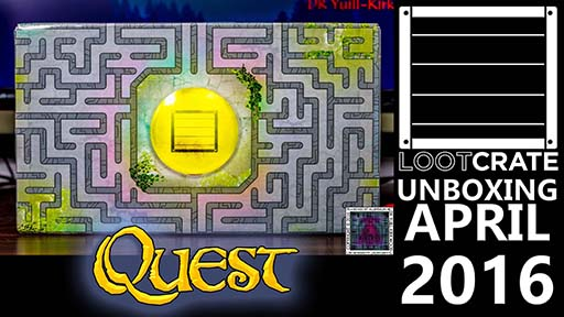 Loot Crate April 2016 Quest thumb