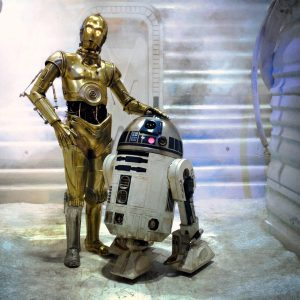 R2-D2 and C3-PO