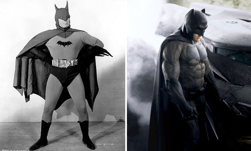 Batman 1943 vs 2016