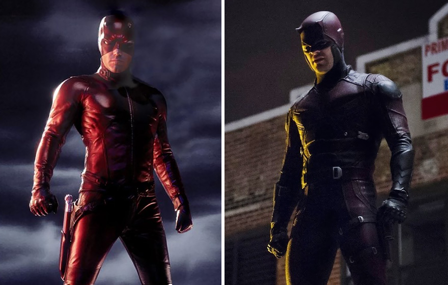 Daredevil 2003 vs 2016