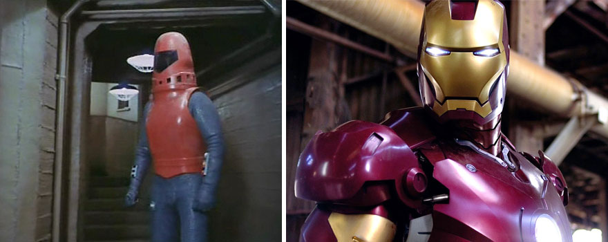 Exo-Man - Iron Man 1977 vs 2008