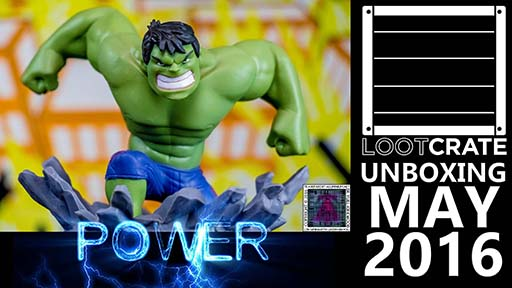 Loot Crate - May 2016 Power Pin thumb