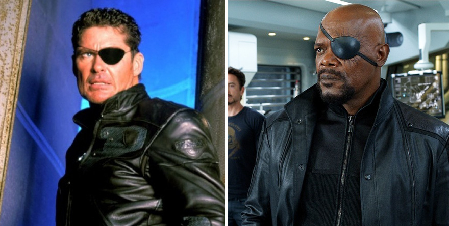 Nick Fury 1998 vs 2012