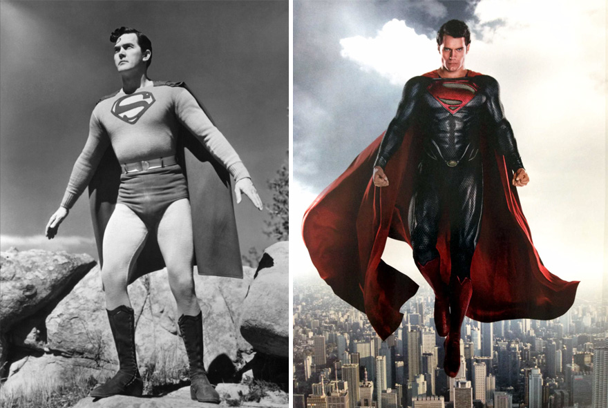 Superman 1948 vs 2016