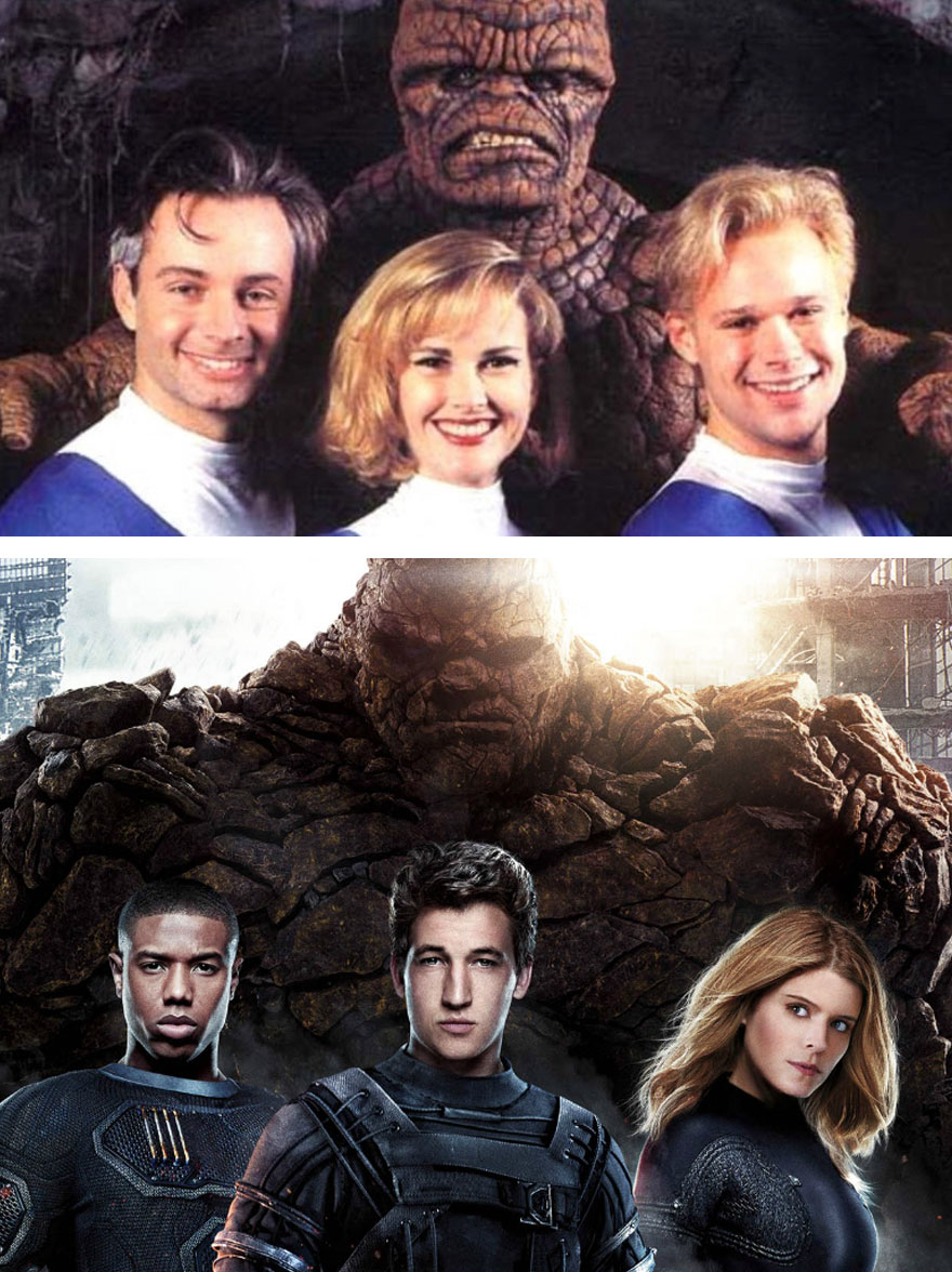 The Fantastic Four 1994 vs 2015