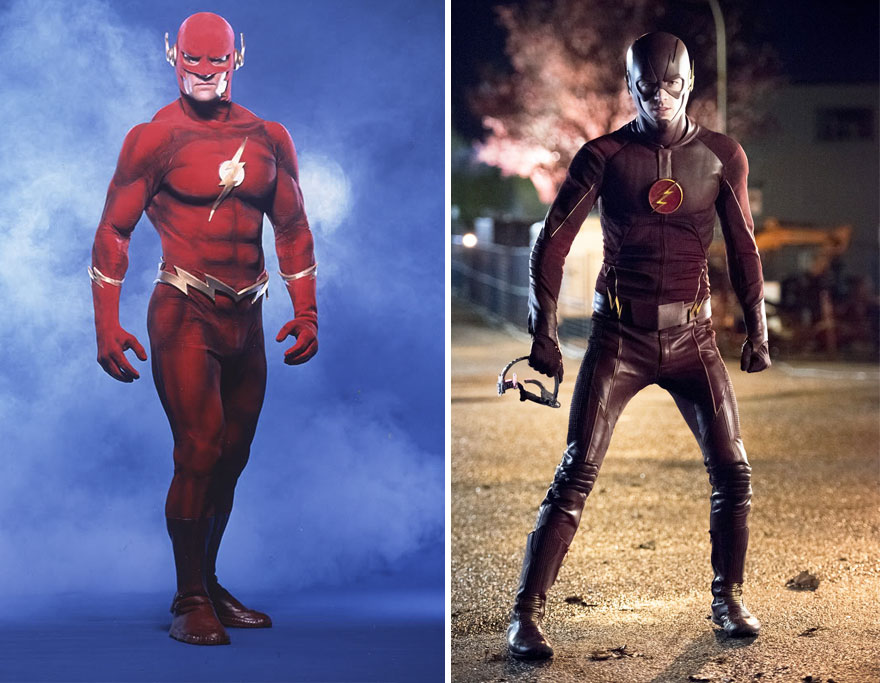 The Flash 1990 vs 2016