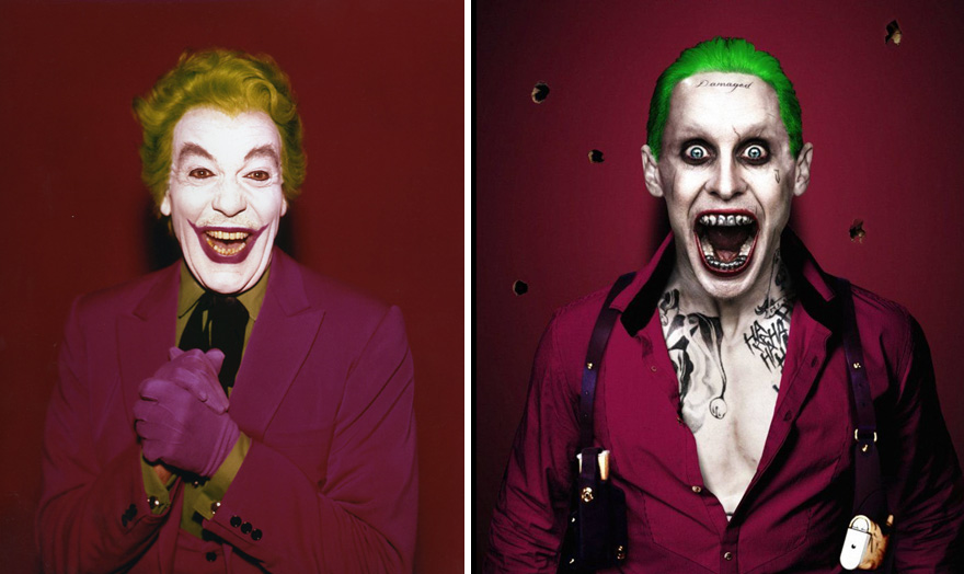 The Joker 1966 vs 2016