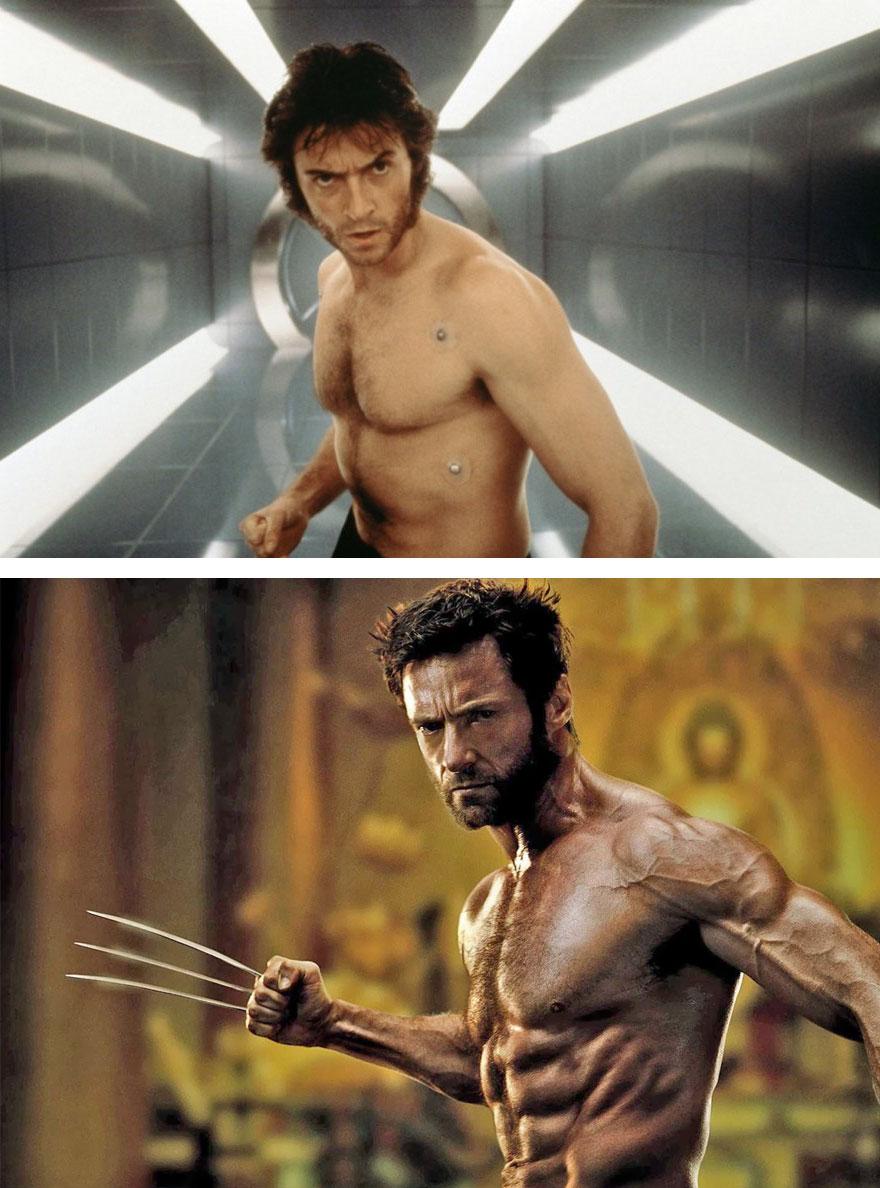 Wolverine 2000 vs 2013