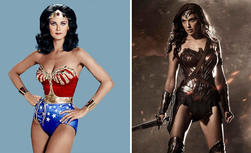 Wonder Woman 1975 vs 2017