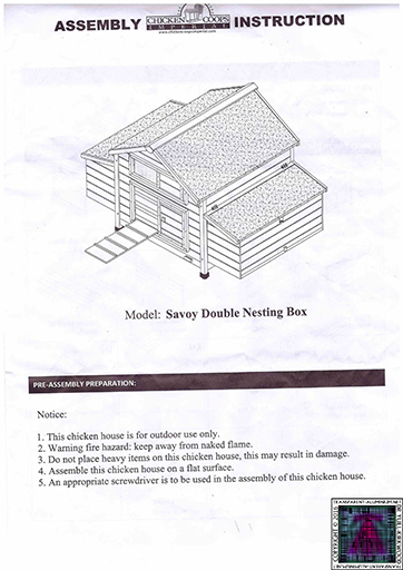 Chicken Coop Assembly (1)