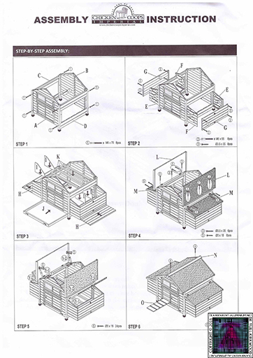 Chicken Coop Assembly (3)
