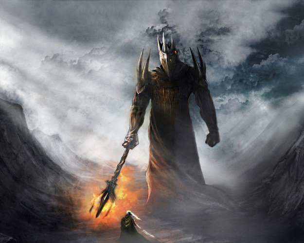 1. Morgoth, the first Dark Lord