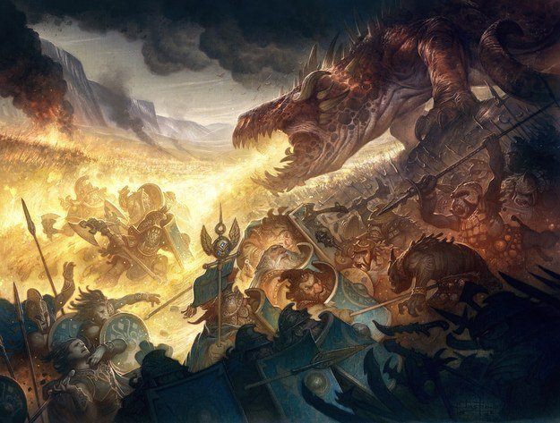 4. Glaurung, Father of Dragons