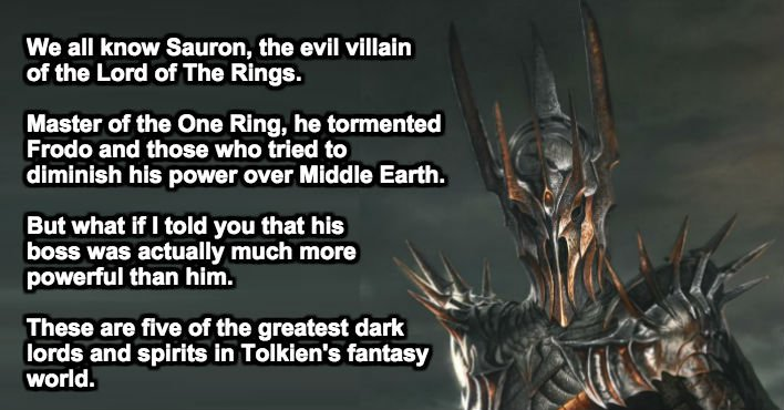 5-tolkien-villains-too-intense-for-the-big-screen