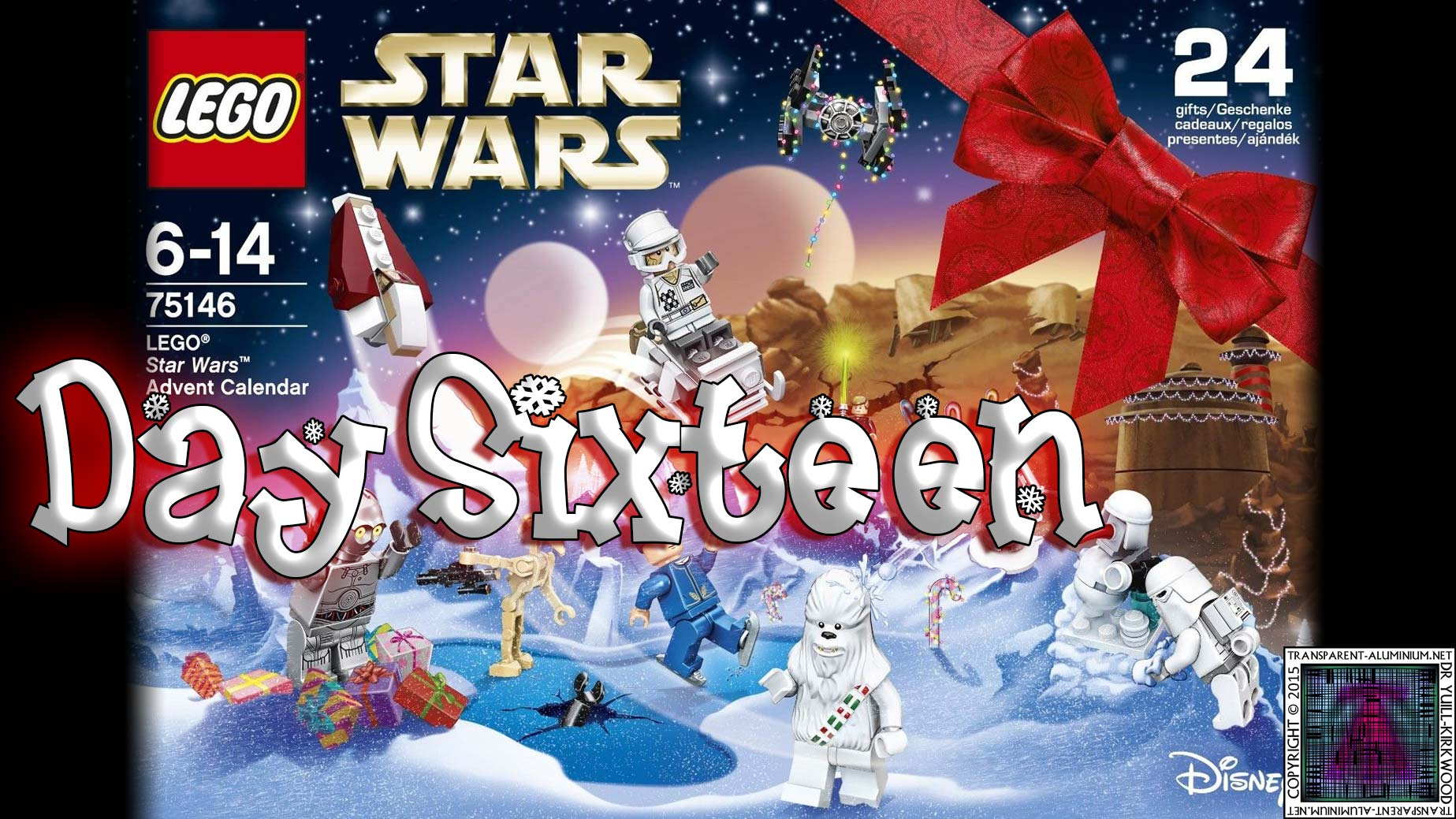 LEGO Star Wars Advent Calendar Day 16 -75146